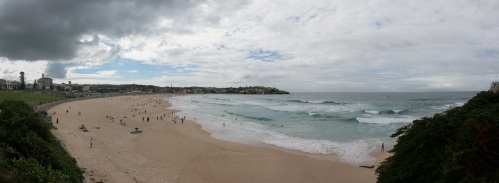 Bondi Beach, where we started the costal walk.
